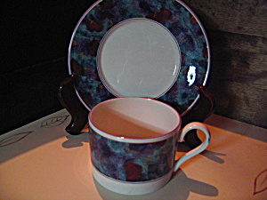 Sango Deborah Mallow Collection Jewel Cup/saucer Set
