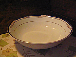 Stokes Formal Golden Swirl 9 In. Serving Bowl
