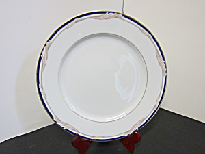 Stokes Formal Golden Swirl Dessert/snack Plate