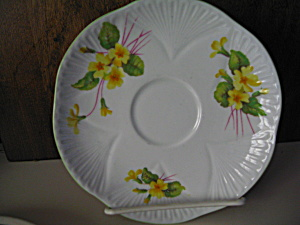 Shelley Bone China Primrose Saucer