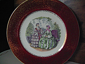 Imperial Service Plate Salem China Co.victorian Women