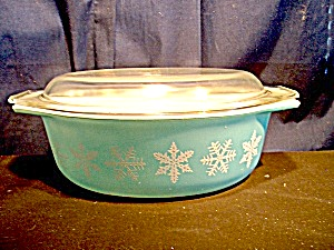 Medium Pyrex 1.5 Qt. Covered Casserole
