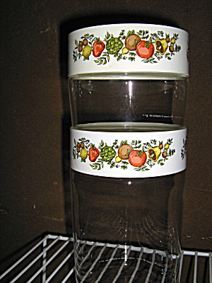 Spice Of Life Stack And See Canister Pyrex Set