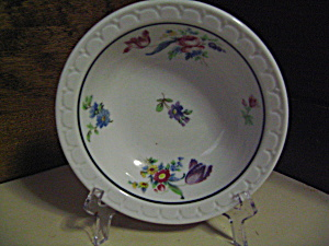 Syracuse Econo-rim Floral Pattern Saucer