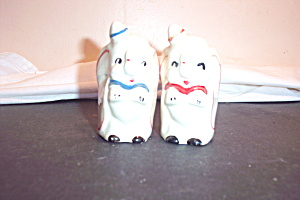 Vintage Dumbo Salt And Pepper Shakers