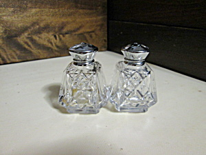 Mini Personalized Crystal Salt & Pepper Shakers