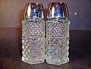 Anchor Hocking Wexford Salt & Pepper Shakers