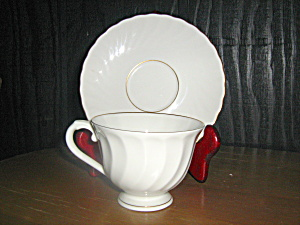 Syracuse Silhouette Debonair Cup And Saucer Set