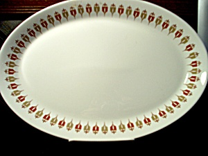 Syracuse China Captain's Table Platter