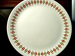 Syracuse China Captain's Table Luncheon Plate