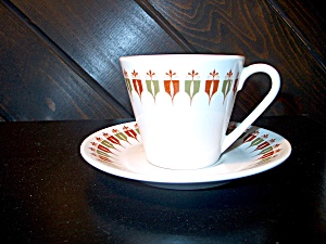 Syracuse China Captain's Table Cup/saucer Set