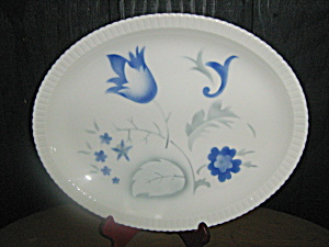 Vintage Syracuse China Shelledge Vogue Oval Plater