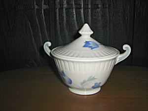 Syracuse China Shelledge Vogue Covered Sugar Bowl
