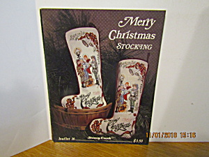Stoney Creek Collection Merry Christmas Stocking #16