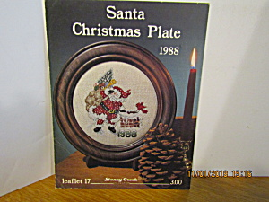 Stoney Creek Collection Santa Christmas Plate 1988 #17