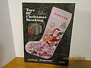 Stoney Creek Collectiontoys Of Christmas Stocking #23
