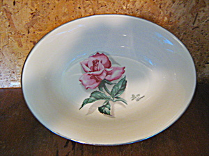 Vintage Syracuse China Iron Wimm Rose Serving Bowl