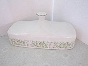 Taihei Fine China Springtime Butter Dish Cover