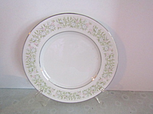 Taihei Regestered Fine China Springtime Salad Plate