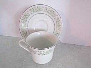 Taihei Regestered Fine China Springtime Cup & Saucer