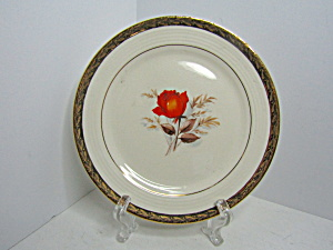 Triumph American Vermillion Rose Bread & Butter Plate