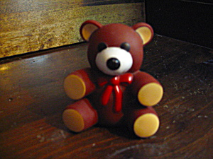 Vintage Ross Laboratories Squeaky Teddy Bear