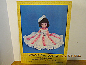 Td Creations Craft Book Crochet Bed Doll Jill #736