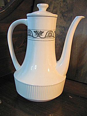 Hamilton Coffee Pot Ironstone By Amcrest