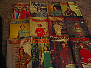 The Workbasket Year 1975 Set In Box