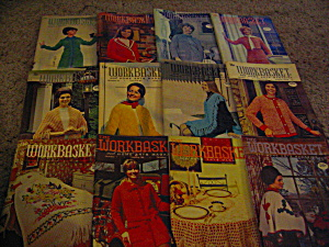 The Workbasket Year 1972 Set In Box