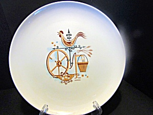 Weathervane By Ts&t Bread Plate