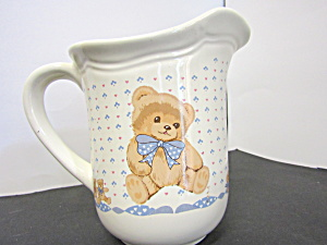 Tienshan Theodore Bear Water/juice Pitcher