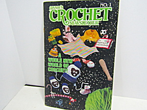 Vintage Annie's Crochet Newsletter No. 1