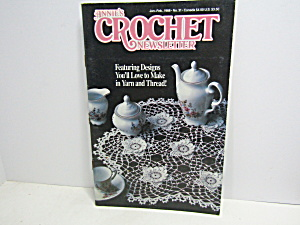 Vintage Annie's Crochet Newsletter No.31
