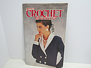 Vintage Annie's Crochet Newsletter No.52