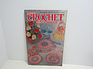 Vintage Annie's Crochet Newsletter No 79