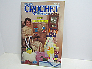 Vintage Annie's Crochet Newsletter No.9