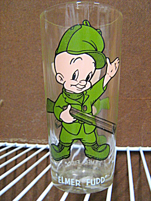 Vintage Pepsi Collector Glass Elmer Fudd Warner Bros.