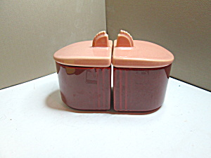 Vintage Francicsan Jam & Jelly Condiment Set