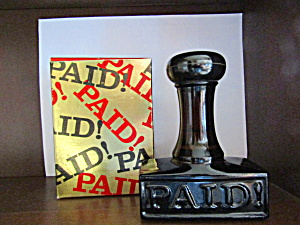 Avon Stamp Decanter With Windjammer After Shave (Image1)