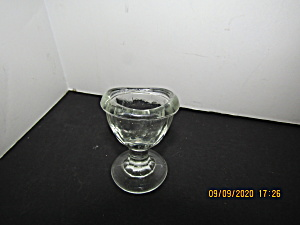 Vintage Mid-century Glass Eye Wash Cup