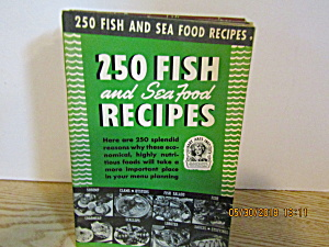 Culinary Arts 250 Fish & Seafood Recipes Booklet # 9