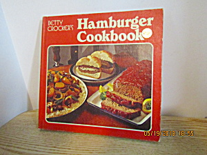 Vintage Betty Crocker's Hamburger Cookbook