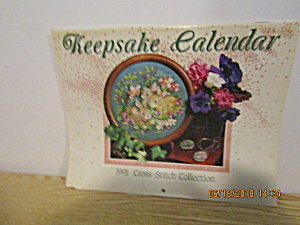 Vintage Keepsake Calender 1991 Cross-stitch Collection