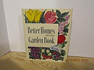 Vintage Better Homes & Gardens Garden Book (Image1)