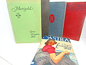 Vintage Book Set By Grace Livingston Hill