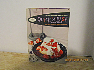 Vintage Good Housekeeping Quick & Easy Cookbook #4