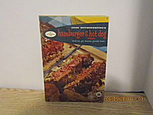 Vintage Good Housekeeping Hamburger&hotdog Book #8