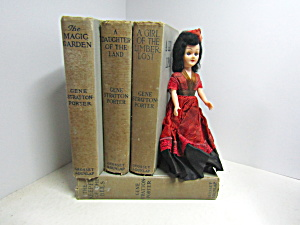 Collectable Decorative Book Set 1 Gene Stratton Porter