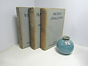 Collectable Decorative Books Set 4 Gene Stratton Porter
